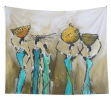 African Pride Wall Tapestry