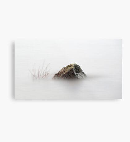 Loch Lomond Rock Metal Print