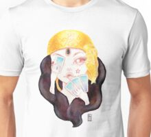 Tarot Gypsy Girl Unisex T-Shirt