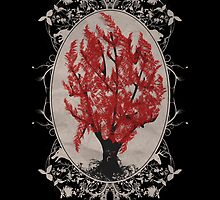 Weirwood Tree by joeymaggs