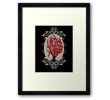 Weirwood Tree Framed Print