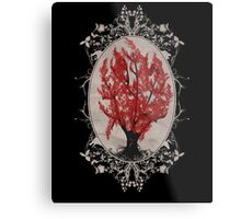 Weirwood Tree Metal Print