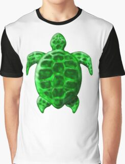 Green Sea Turtle Graphic T-Shirt