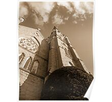 St. Andrews In Sepia Poster