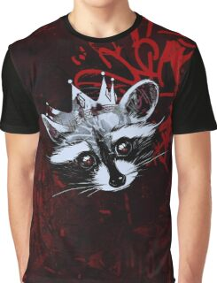 King Raccoon · Rey Mapache Ver.4 Graphic T-Shirt