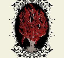Weirwood Tree by joeymaggs