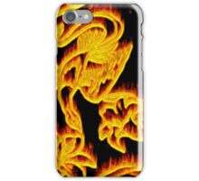 Phoenix Aflame iPhone Case/Skin