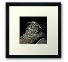 Grandma Sculpture by Miles Robinson Framed Print