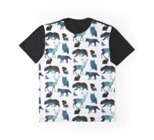 Galaxy Forest Animals ver. 2 Graphic T-Shirt