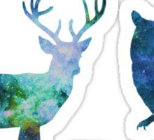 Galaxy Forest Animals ver. 2 Sticker