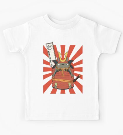 Samurai Totoro Kids Tee