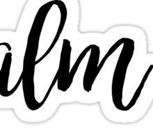 Psalm 40 Sticker