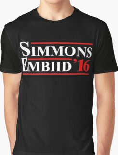simmons embiid 2016 Graphic T-Shirt