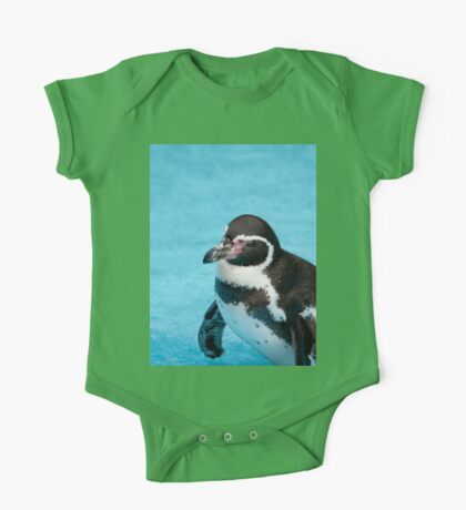 Magellanic Penguin One Piece - Short Sleeve