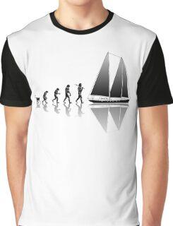 Sailing Evolution Graphic T-Shirt