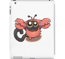 Signs of the ZODICAT - Cancer: The crabby kitty iPad Case/Skin