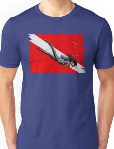 Woman Diving Unisex T-Shirt