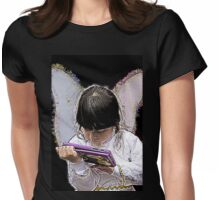 Cuenca Kids 821 - Watercolor Womens Fitted T-Shirt