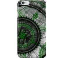Abstract mechanical fractal iPhone Case/Skin
