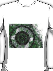 Abstract mechanical fractal T-Shirt