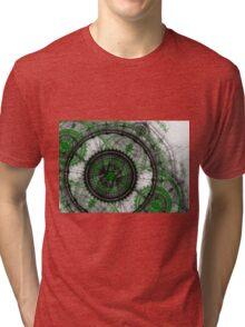 Abstract mechanical fractal Tri-blend T-Shirt