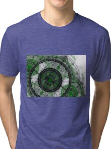 Abstract mechanical fractal Tri-blend T-Shirt