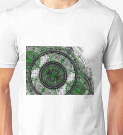 Abstract mechanical fractal Unisex T-Shirt
