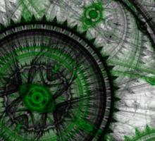 Abstract mechanical fractal Sticker