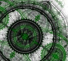 Abstract mechanical fractal by MartinCapek