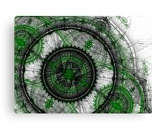 Abstract mechanical fractal Canvas Print