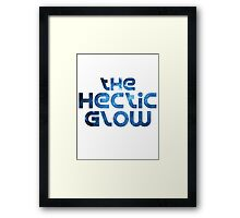 The Hectic Glow - Original Band shirt Framed Print