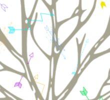 Tree Arrows Sticker