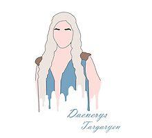 Daenerys Targaryen by theleafygirl