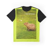 I love capybaras! Graphic T-Shirt