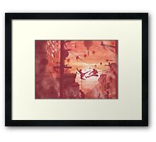 Chinese Street (30 left!) Framed Print