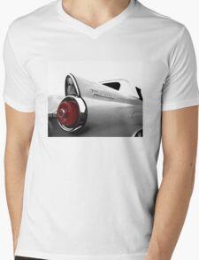 1955 Ford Thunderbird - high contrast Mens V-Neck T-Shirt