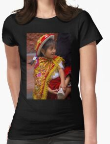 Cuenca Kids 822 Womens Fitted T-Shirt