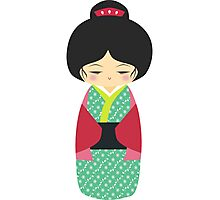 Kokeshi doll Photographic Print