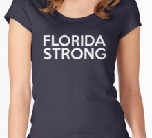 Florida Strong Women's Fitted Scoop T-Shirt