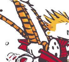 Calvin Go for it! Sticker