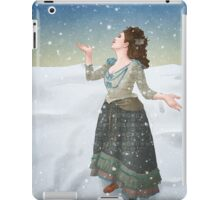 Idris in the Snow (Doctor Who) iPad Case/Skin