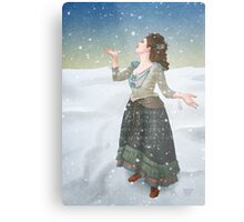 Idris in the Snow (Doctor Who) Metal Print