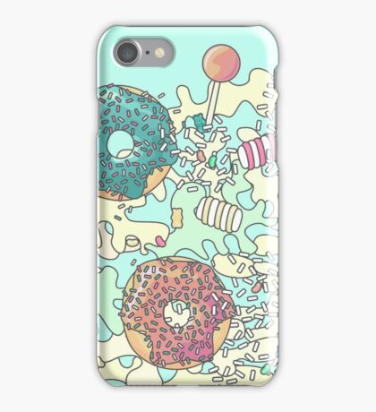 Pastel Camo Sweets iPhone Case/Skin