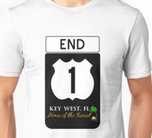 Key West Highway 1 Unisex T-Shirt