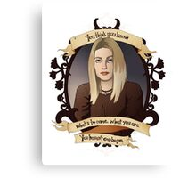Tara - Buffy the Vampire Slayer Canvas Print