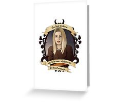 Tara - Buffy the Vampire Slayer Greeting Card