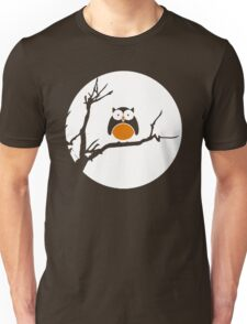 Dark Owl - Halloween Vector Unisex T-Shirt