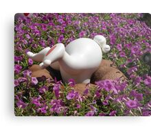 Alice in Wonderland @ Tokyo Disneyland: white rubbit butt Metal Print