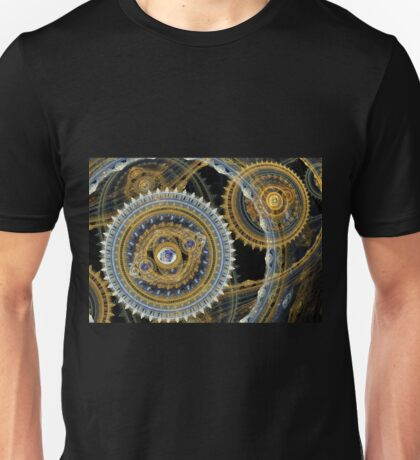 Steampunk machine Unisex T-Shirt