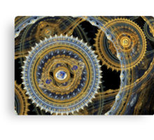 Steampunk machine Canvas Print